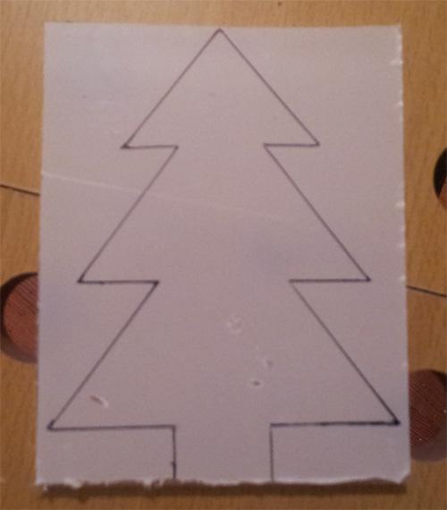 Sapin de no l mise en forme du plexiglass blog de - Gabarit sapin de noel en carton ...